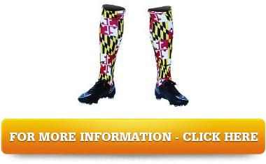 Maryland Flag Custom Sublimated Nike Soccer Socks Solutions